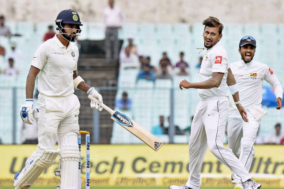 india vs sri lanka 1st test kolkata: pellet in the sri lankan cricketer suranga lakmal feet