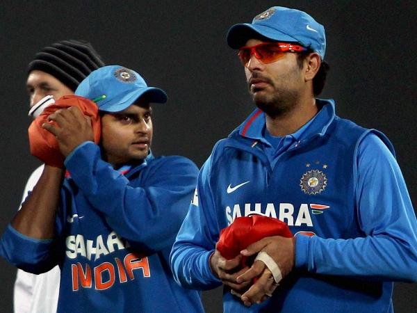 mohammad azharuddin and Sunil Gavaskar wants yuvraj singh suresh raina back in team