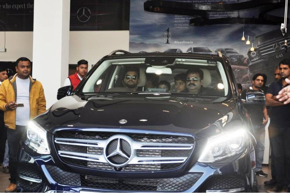 Suresh Raina Buys Rs 80 Lakh Mercedes Gift Parents