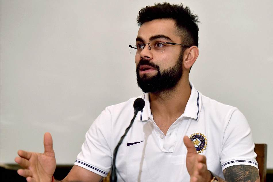 Virat Kohli said he is not a robot You can slice his skin and check he bleed