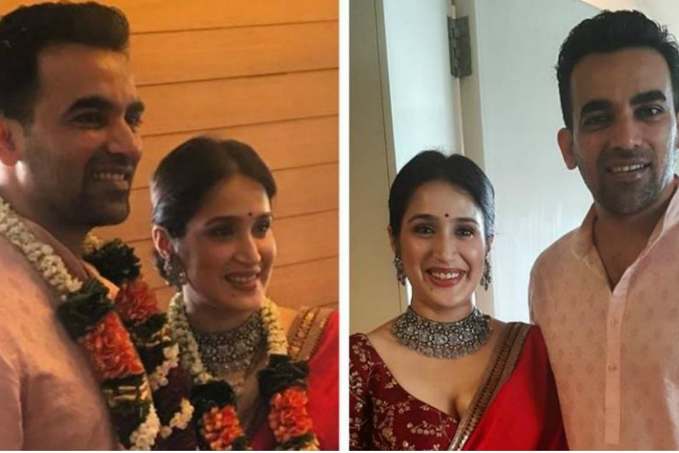Zaheer Khan Ties The Knot With Sagarika Ghatge See Photos