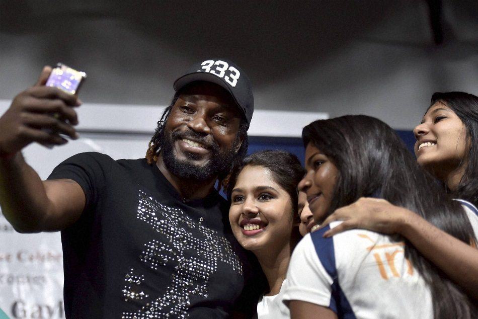 Chris gayle said he is the greatest cricketer of all time