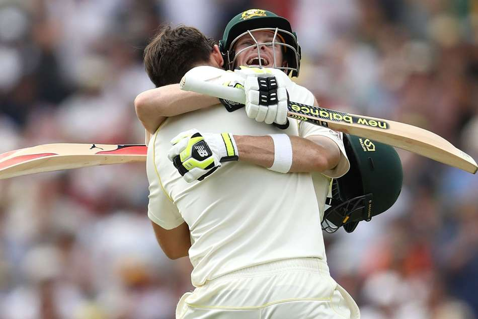 Ashes series: steve Smith and Marsh gorge themselves as England put to the sword