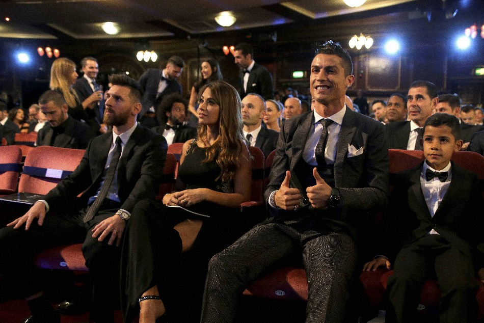 Ronaldo Proud Compete With Messi
