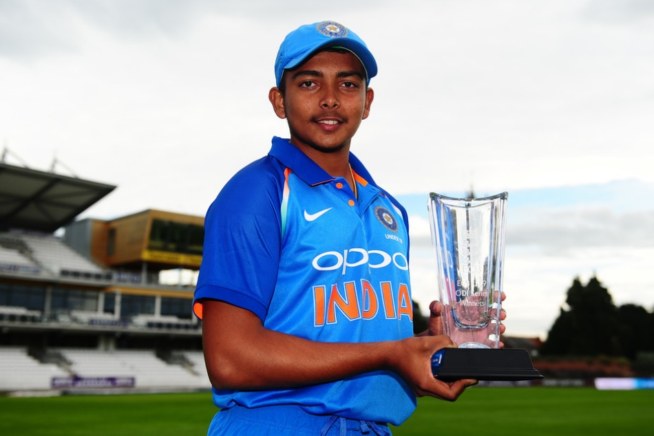 is prithvi Shaw is the next Virat Kohli, will lead india u19 in world cup