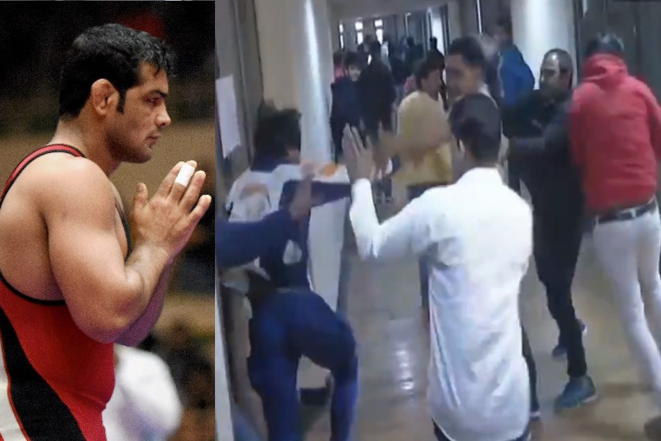 Scuffle broke out between alleged supporters of wrestlers Sushil Kumar and Parveen Rana