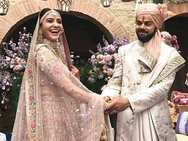 Virat Kohli Anushka Sharma Marriage Best Social Media Reactions On Virushka Wedding