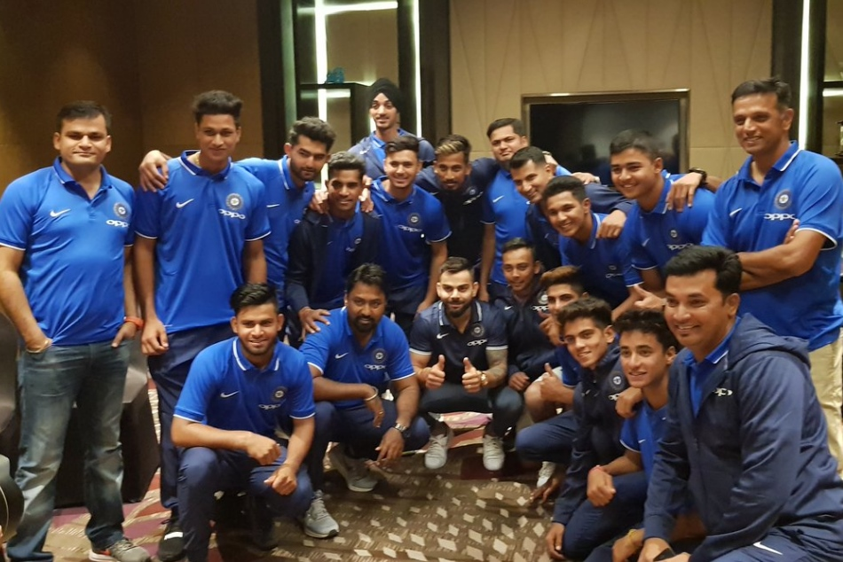 Virat Kohli spent some time with U19 youngsters, Dravid hopes new stars emerge from U19 World Cup