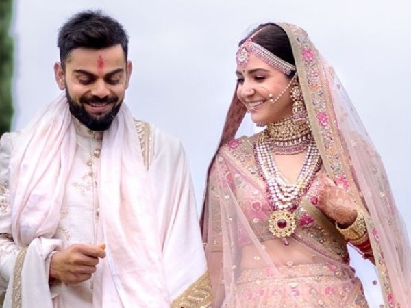 Virat Kohli Anushka Sharma Marriage Shah Rukh Khan Sachintendulkar And Others Wishes Virushka
