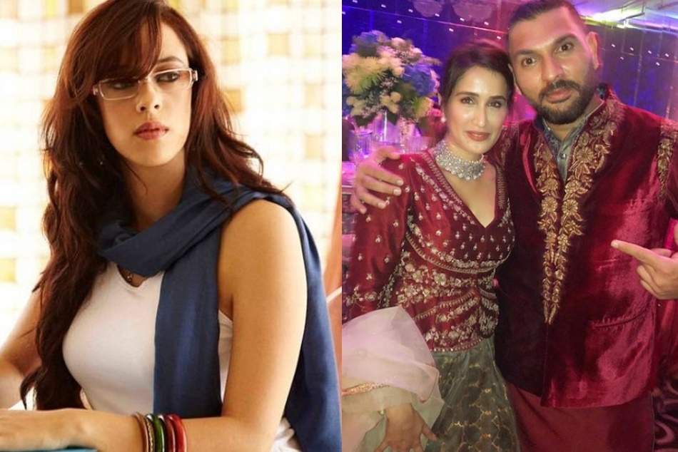Sagarika Ghatge Share Photo With Yuvraj Singh From Virushka Reception Hazel Keech Comments