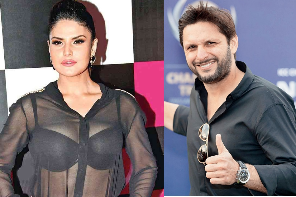 Zareen Khan Clears The Air On Marriage With Shahid Afridi