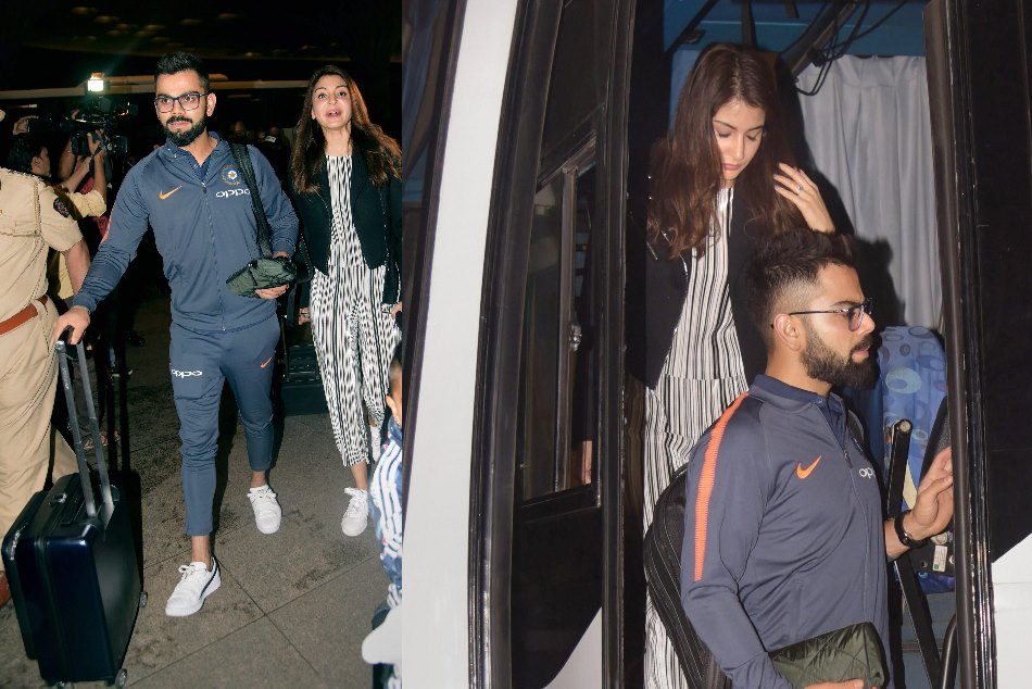 Anushka Sharma Virat Kohli Head South Africa New Year Celebrations