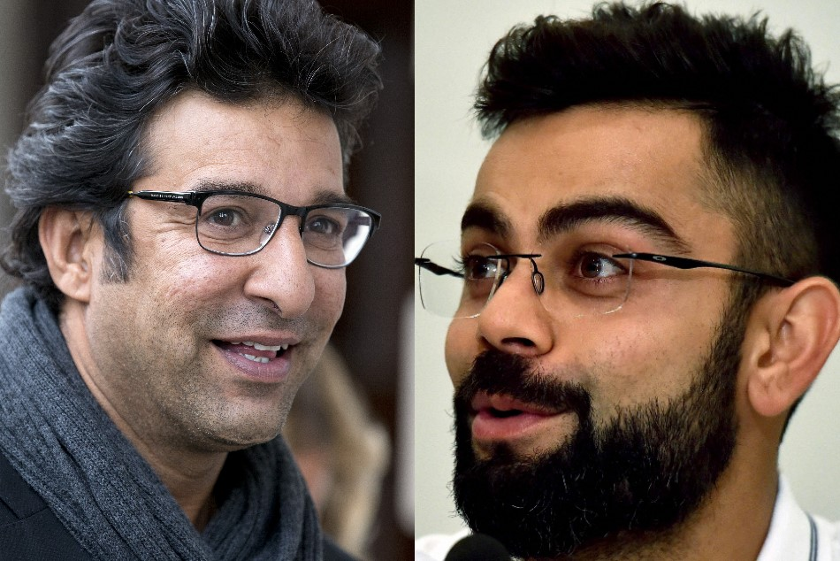 Kohli is very aggressive and I would definitely have loved to bowl to him said Wasim Akram