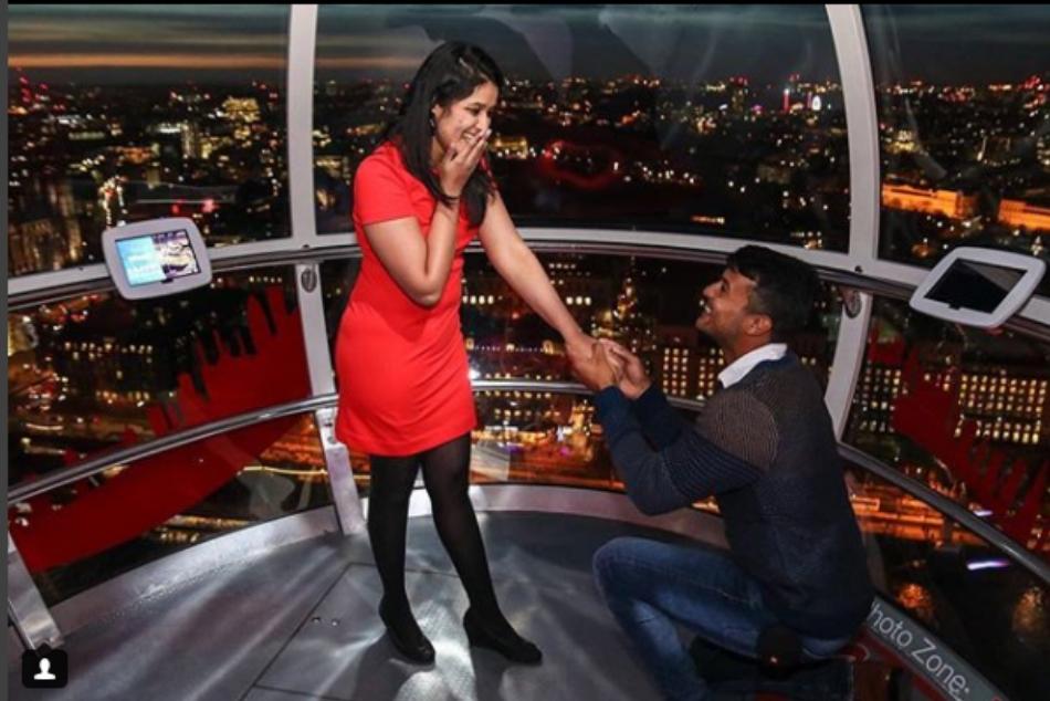 Karnataka Ranji Trophy Hero Mayank Agarwal Propose His Girlfriend On London Eye