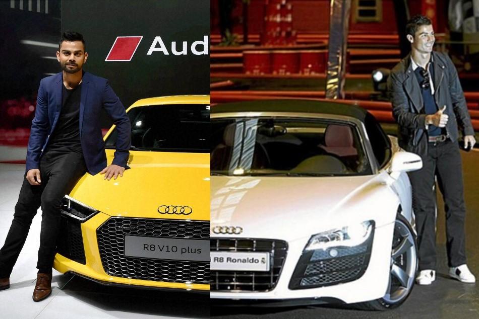 Cristiano Ronaldo Virat Kohli Car Price Ronaldo Ahead Kohli