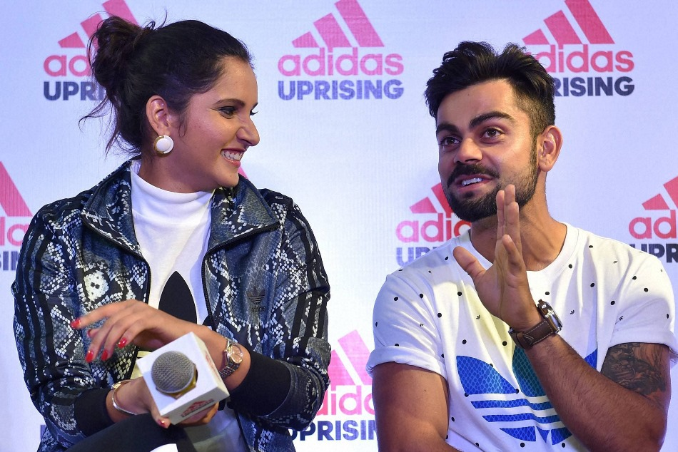 Sania mirza said Virat kohli MS Dhoni her favourite indian cricketer