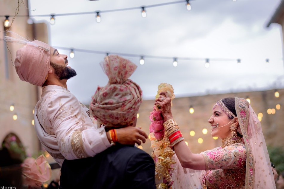 Indian skipper Virat Kohli and Anushka Sharma tie the knot in Italy, here is all latest pic