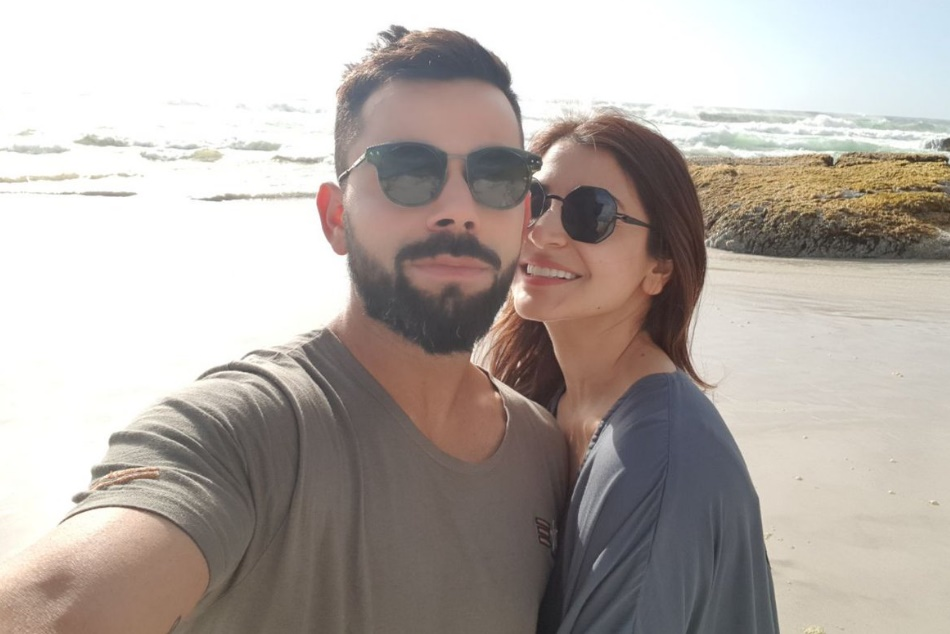 Virat Kohli Enjoying Cape Town With Wife Anushka Sharma Shares Picture On Twitter