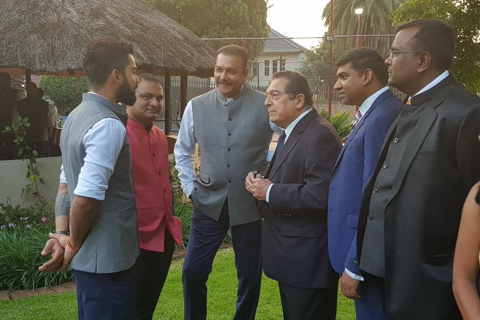 Ind Vs Sa Virat Kohli Along With Indian Cricket Team Visits India House Johannesburg For Dinner