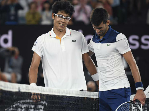 Australian Open Novak Djokovic Beaten By Hyeon Chung