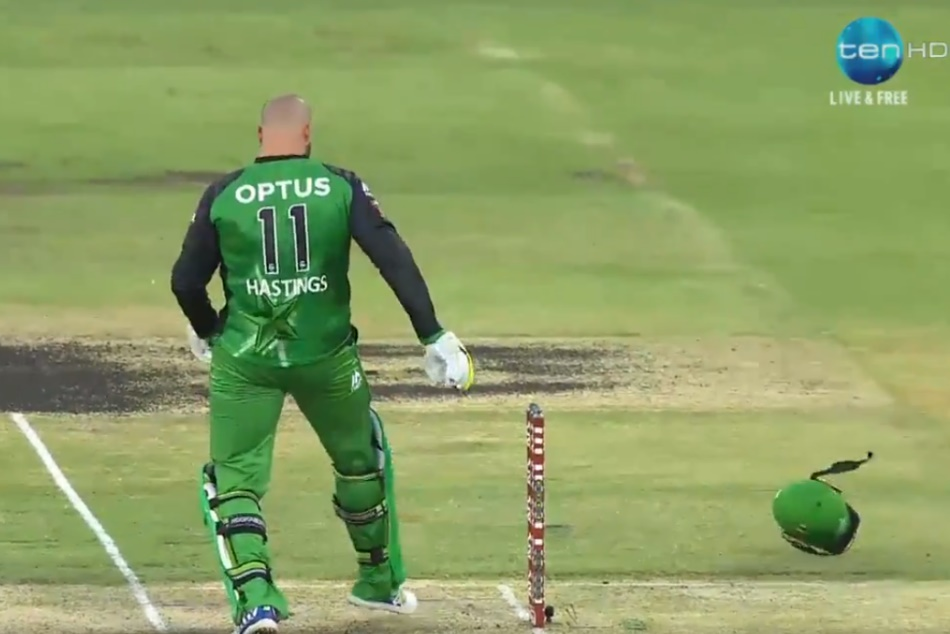 BBL: A nasty blow for The Duke, but thankfully he's OK