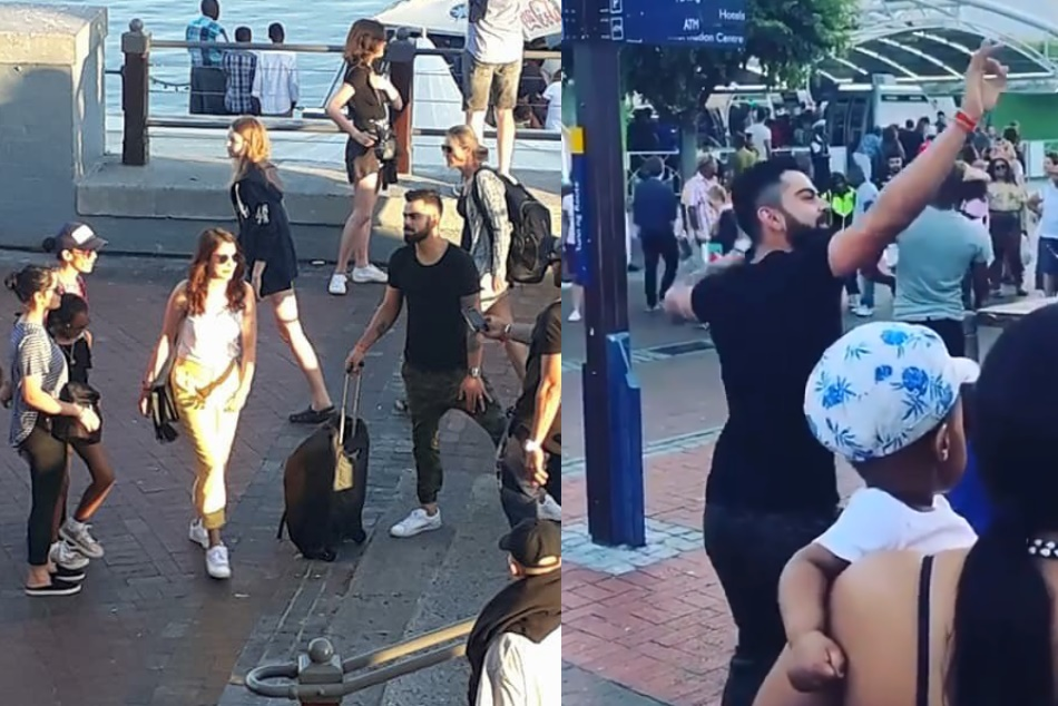 Virat Kolhi Celebrates New Year With Wife Anushka Sharma Dances Bhangra On Streets