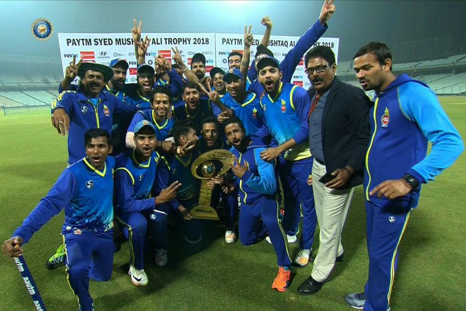 Syed Mushtaq Ali Trophy Delhi Lift Trophy Style Beat Rajasthan