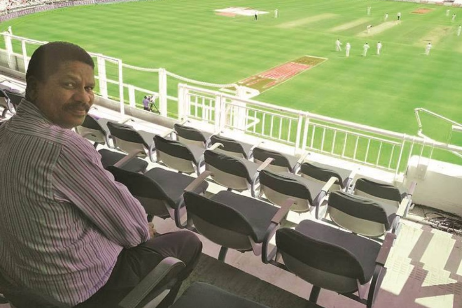 Meet the man Vernon Philander waves at after every wicket at Newlands