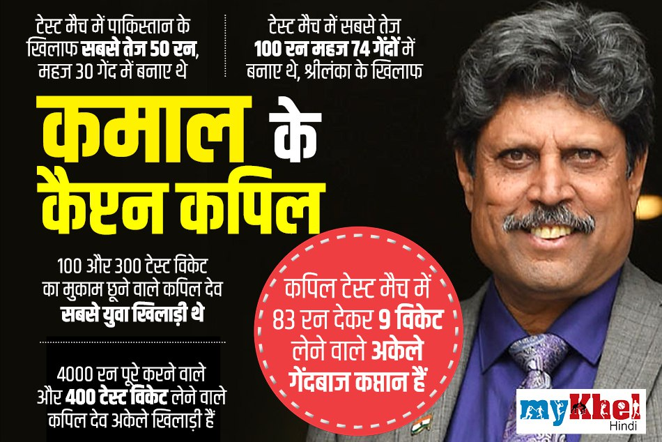 Happy Birthday india's legend cricketer kapil dev: interesting facts