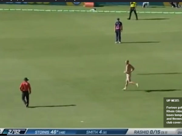 When Cricket Fan Started Running Nude In The Ground Australia England Match