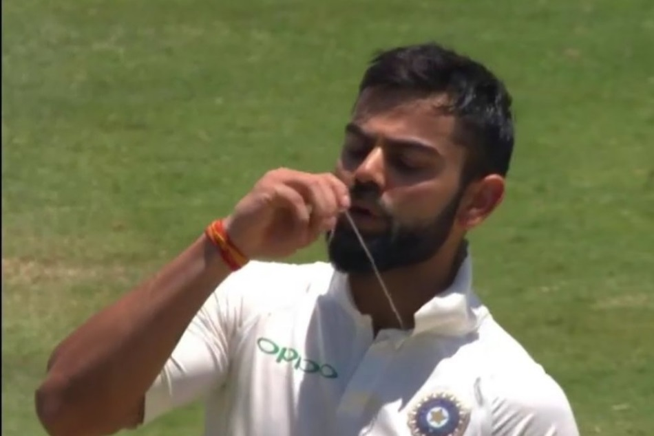 India Vs South Africa Virat Kohli Kissed His Engagement Ring