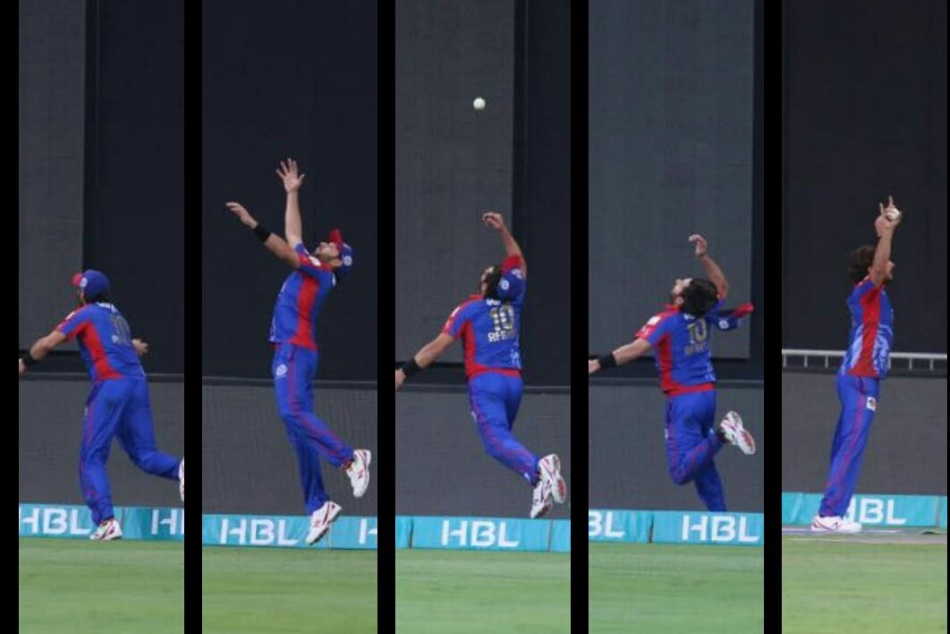 Watch Video Shahid Afridi Pulls Off Stunning Catch The Psl