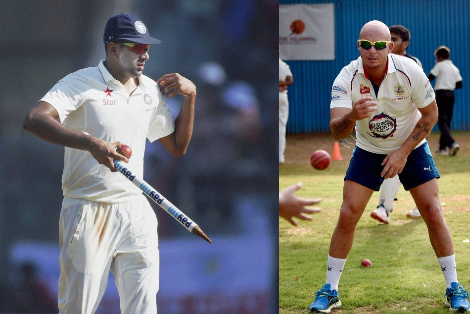 Trolled by Herschelle Gibbs on Twitter, R Ashwin responds with fixing jibe
