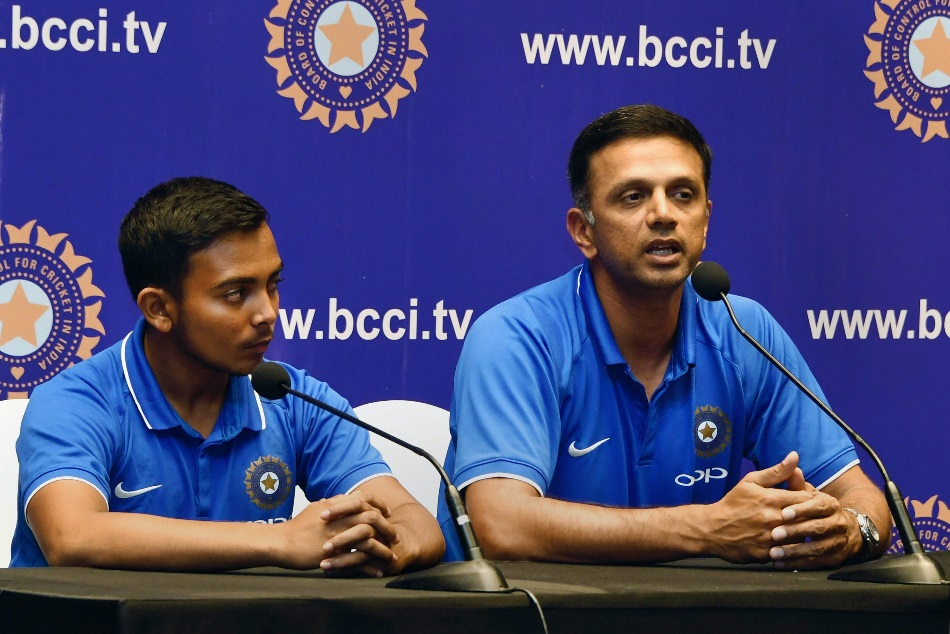 bcci accepted rahul dravid demand to give equal amount of money to u19 sport staff