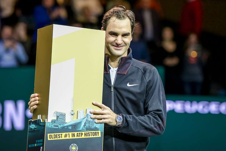 Tennis Legend Roger Federer Become The Oldest No 1 Player Ever