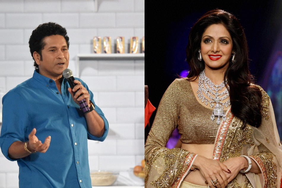 Sachin Tendulkar Express Heartiest Condolences Sridevi Family