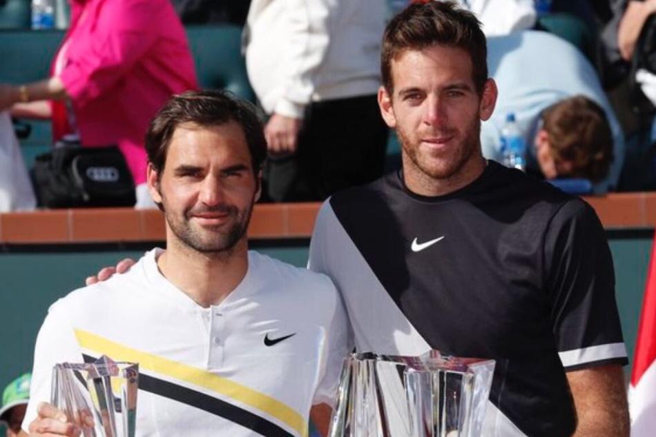 Juan Mart N Del Potro Beats Roger Federer Win Indian Wells Ttitle