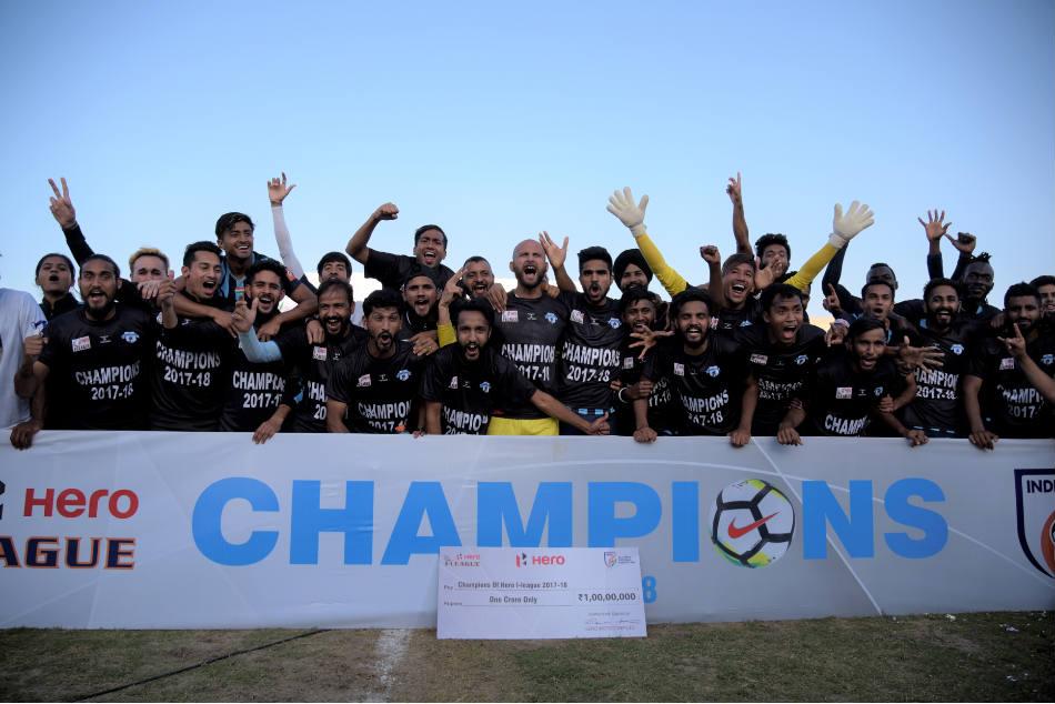आई लीग 2017-18: दो दशक बाद मिनर्वा पंजाब FC ने जीती चैंपियनशिप