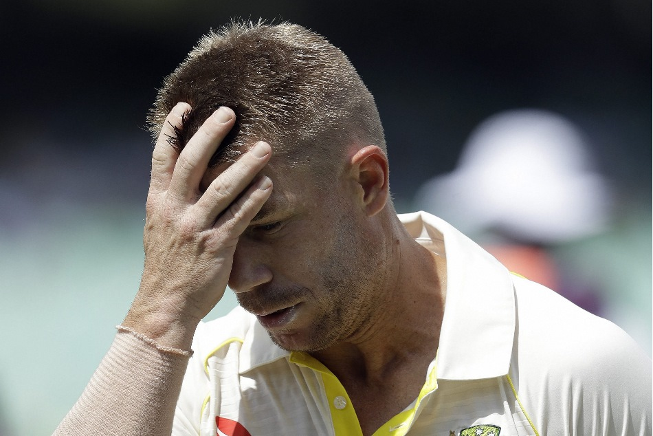David warner apologise for his mistake and take responsibility