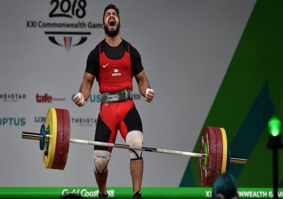 Cwg 2018 Vikas Thakur Wins Bronze Medal In 94kg Weightlifting