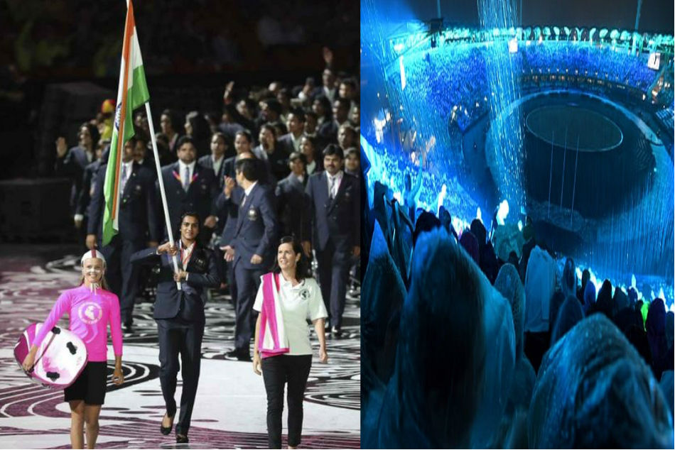 Commonwealth Games 2018: PV Sindhu carries India flag at glittering Opening Ceremony in Gold Coast