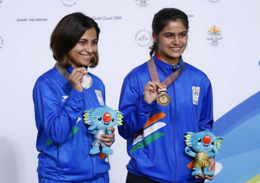 Gold for Manu Bhaker, silver for Sidhu in 10m air pistol