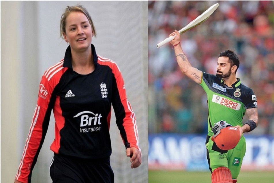 danielle wyatt demands green jersey to support kohli and rcb