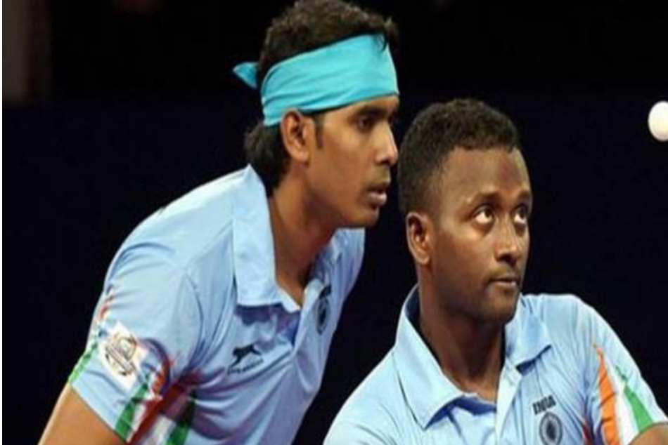Cwg 2018 India Defeat Nigeria 3 0 To Win Gold Men Team Table Tennis