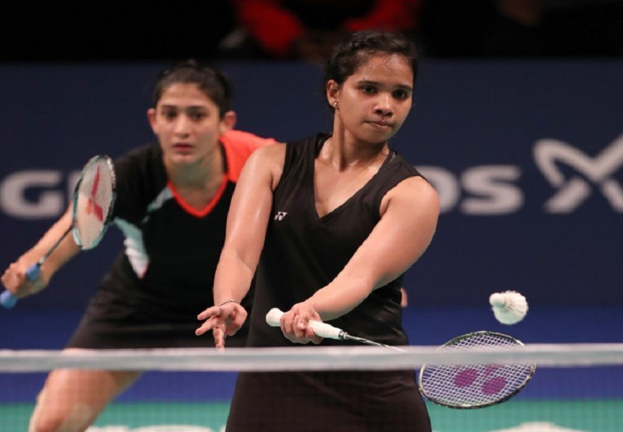 Ashwini Ponnappa and Sikki Reddy win the bronze medal in Womens Doubles