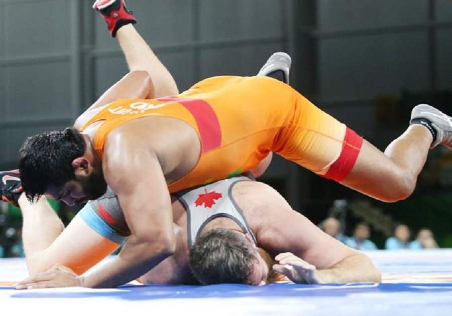 cwg 2018 wrestler sumit malik claims gold in 125kg category