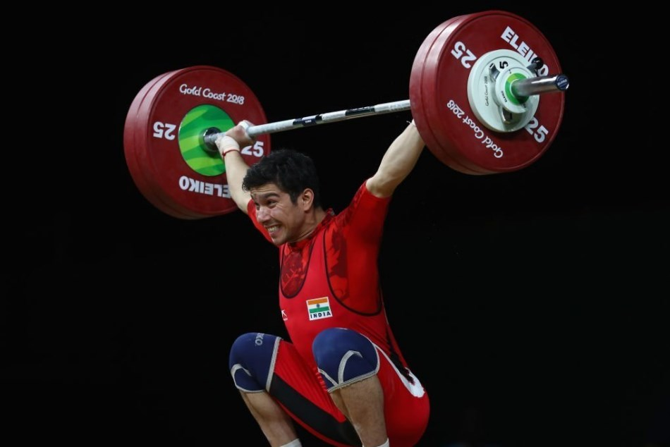Indias Deepak Lather wins Bronze Medal in 69kg category weightlifting.