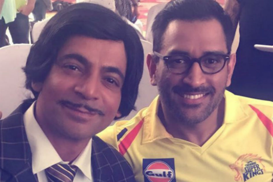 Sunil Grover Shoots With Mahendra Singh Dhoni The Promo His Cricket Show
