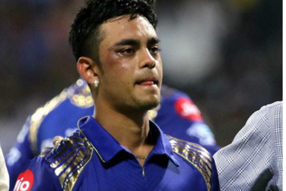 Mi Vs Rcb Ishan Kishan Injured Match Hit Hardik Pandya