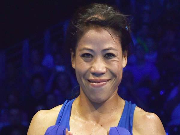Commonwealth Games 2018 Mary Kom Wins Gold In Women Boxing In The 45 48 Kg Category